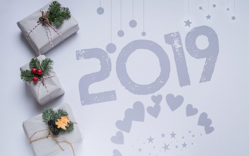 Życzenia noworoczne na szczęśliwy 2019 rok